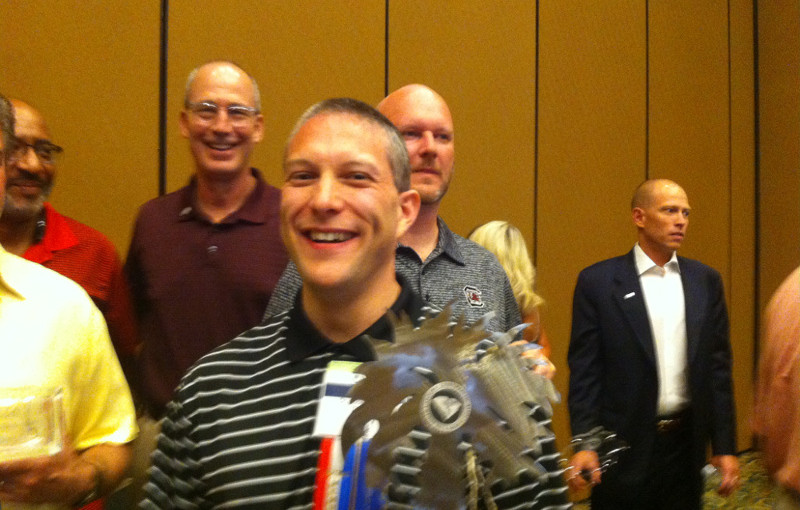 Greenville Chiropractor Dr. Luke Henry Recognized by the South Carolina Chiropractic Association